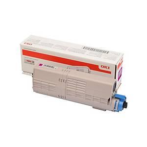 Toner laser Oki 46490606 - magenta