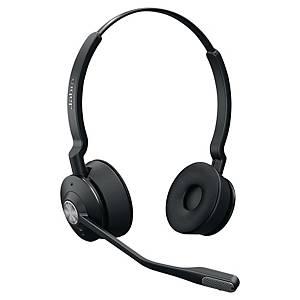 Jabra Engage 65Duo vezeték nélküli telefonos headset, DECT technológia