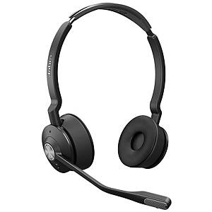 Casque d écoute Jabra Engage 75 Duo/Stereo, DECT/bluetooth