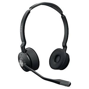 Jabra Engage 75Duo vezeték nélküli telefonos headset, DECT technológia
