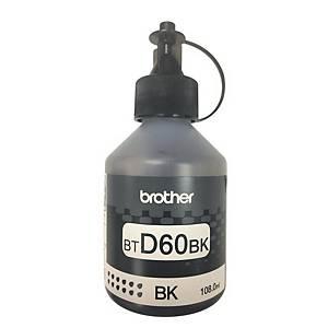 BROTHER หมึกอิงค์เจ็ท รุ่น BT-D60BK ชนิดเติม สีดำ