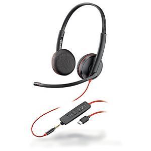 Plantronics Blackwire C3225 kuulokkeet USB-C