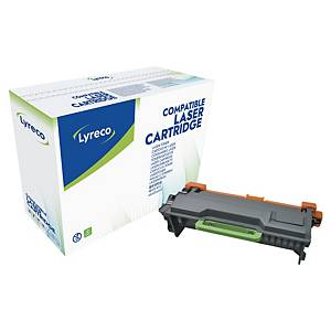 Toner laser Lyreco compatível com Brother TN3480 - preto