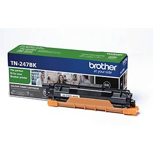 Lasertoner Brother TN247BK, 3 000 sidor, svart