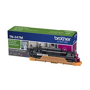 Brother TN-247M laser cartridge red [2.300 pages]