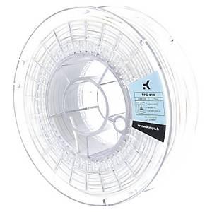 Filament 3D PLA Owa ral9003 1,75mm 2,2kg blanc