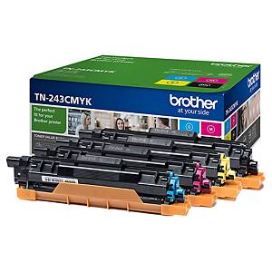 Toner Brother TN-243, Multipack, Packung à 4 Stück