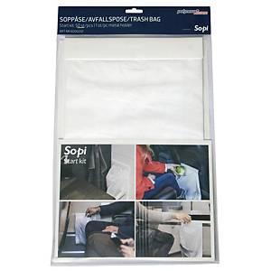 Affaldsposer Polynova Sopi Startkit, pakke a 50 stk. + metalholder