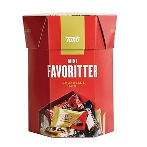 Chokolade Toms Mini Favoritter, 600 g