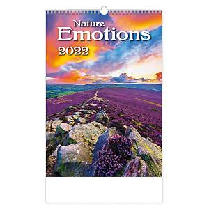 Nature Emotions - měsíční mezinárodní kalendárium, 14 listů, 31,5 x 45 cm