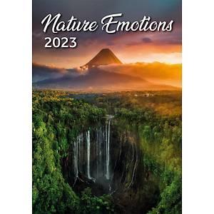 Nature Emotions - mesačné medzinárodné kalendárium, 14 listov, 31,5 x 45 cm