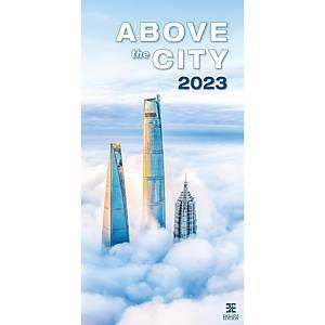 All About Cities - měsíční mezinárodní kalendárium, 14 listů, 31,5 x 63 cm