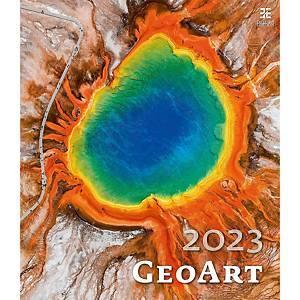 Geo Art - měsíční mezinárodní kalendárium, 14 listů, 45 x 52 cm