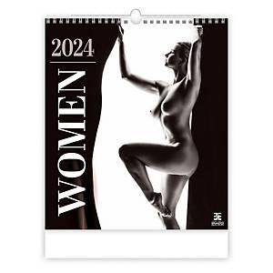 Women - mesačné medzinárodné kalendárium, 14 listov, 45 x 52 cm