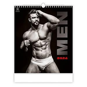 Men - měsíční mezinárodní kalendárium, 14 listů, 45 x 52 cm