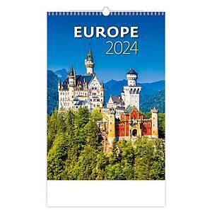 Cities of Europe - mesačné medzinárodné kalendárium, 14 listov, 31,5 x 45 cm