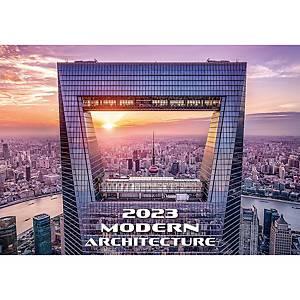 Old Street - měsíční mezinárodní kalendárium, 14 listů, 31,5 x 45 cm