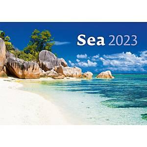 Sea - měsíční mezinárodní kalendárium, 14 listů, 45 x 31,5 cm