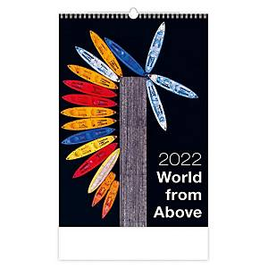 Cafe - měsíční mezinárodní kalendárium, 14 listů, 31,5 x 45 cm
