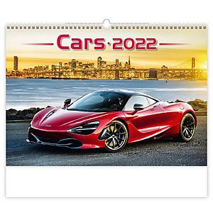 Cars - měsíční mezinárodní kalendárium, 14 listů, 45 x 31,5 cm