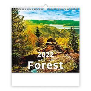 Les - měsíční mezinárodní kalendárium, 14 listů, 34 x 32,5 cm