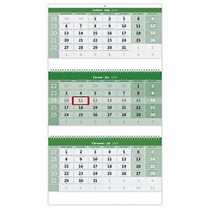 Víno - mesačné medzinárodné kalendárium, 14 listov, 34 x 32,5 cm