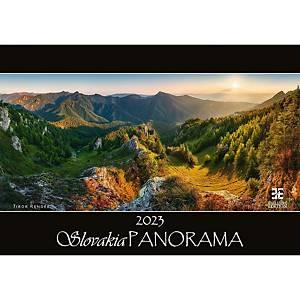 Tatry Panorama - mesačné medzinárodné kalendárium, 14 listov, 48,5 x 34 cm