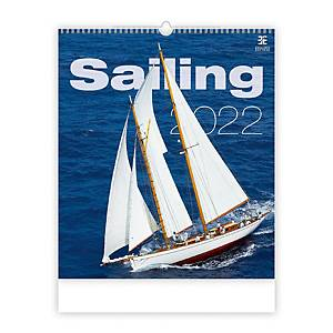 Sailing - mesačné medzinárodné kalendárium, 14 listov, 45 x 52 cm