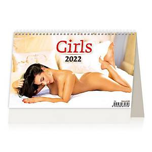 Girls - české/slovenské týdenní řádkové kalendárium, 58 + 2 stran