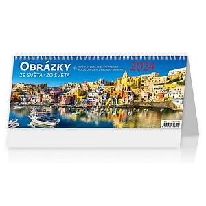 Obrázky ze světa - české/slovenské týdenní sloupcové kalendárium, 60 + 2 stran