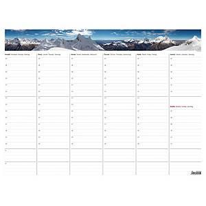 Týdenní plánovací mapa A2 s fotografií, 30 stran, 63 x 48 cm