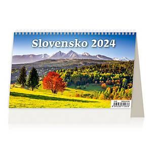 Slovensko - slovenské dvojtýždňové riadkové kalendárium, 28 + 2 strán