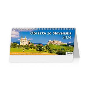 Obrázky zo Slovenska - slovenské týždenné stĺpcové kalendárium, 60 + 2 strán