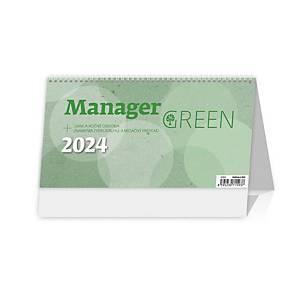 Manager Green - slovenské týždenné stĺpcové kalendárium, 60 + 2 strán