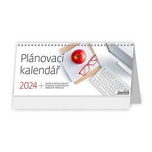 Plánovací kalendář - české týdenní sloupcové kalendárium, 60 + 2 stran
