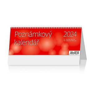 Poznámkový kalendář OFFICE - české týdenní sloupcové kalendárium, 56 + 2 stran