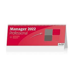 Manager Professional - české týdenní sloupcové kalendárium + Aj, 64 + 2 stran