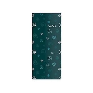 Diár vreckový mesačný Napoli Design 4 - 7,7 x 17,8 cm, 32 strán