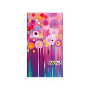 Diár vreckový dvojtýždenný Napoli Design 7 - 8,5 x 15,4 cm, 80 strán