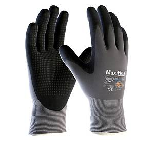 Handschuhe Maxiflex Kategorie II, Grösse 10, schwarz/grau