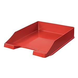 Briefkorb HAN 1027, stapelbar, Maße: 243 x 335 x 57mm, rot
