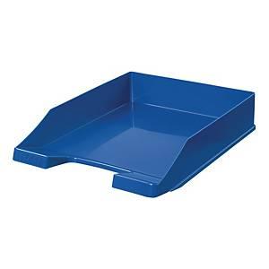 Briefkorb HAN 1027, stapelbar, Maße: 243 x 335 x 57mm, blau