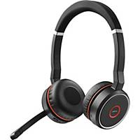 Headset Jabra Evolve 75 UC, Duo/Stereo, Bluetooth