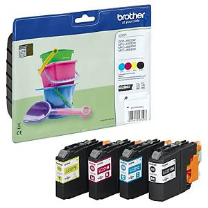 Brother LC-221 inkjet cartridge black/blue/red/yellow [4x260 pages]