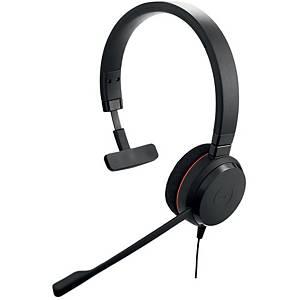 JABRA ชุดหูฟังไมโครโฟน รุ่น EVOLVE 20 MS แบบ 1 หู