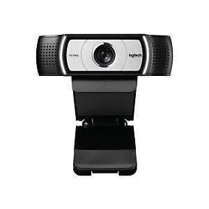Logitech C930 HD pro webcam, zwart