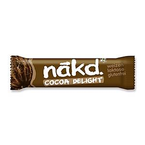 Riegel Cocoa Delight Lotus Nakd, 35 g, Packung à 18 Riegel