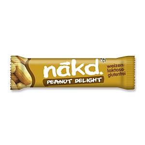 Riegel Peanut Delight Nakd, 35 g, Packung à 18 Riegel