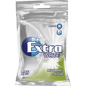 Tuggummi Wrigley Extra White melon/mint, 35g