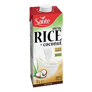 SANTE RICE COCONUT MILK NO SUGAR 1L
